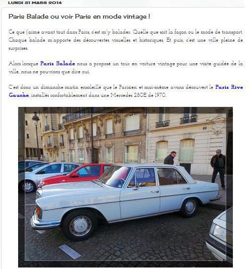rever d'ailleurs Paris Balade