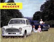 Brochure Peugeot 403