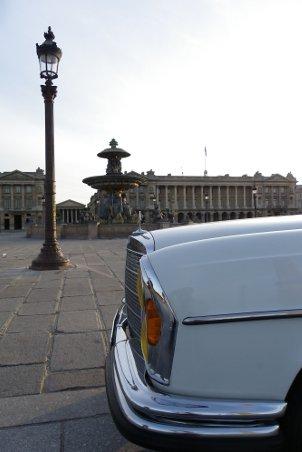 Mercedes Paris inconnu