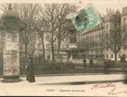 Colonnes Morris Square Louvois
