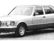 Mercedes W126 500 SEL