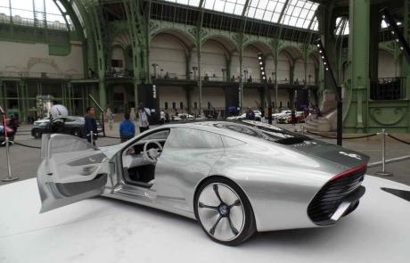 L'exposition Mercedes Les belles étoiles au Grand Palais