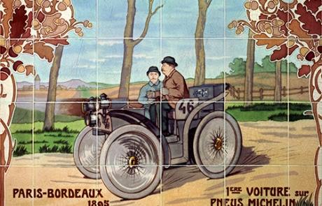 Histoire de Michelin : des pneus et des guides