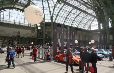 Le départ du Tour Auto 2017 au Grand Palais