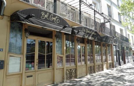 Une sortie restaurant au Bel Canto
