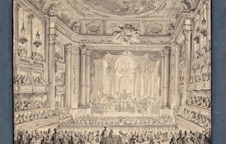 L'Opéra royal à Versailles hier et aujourd'hui