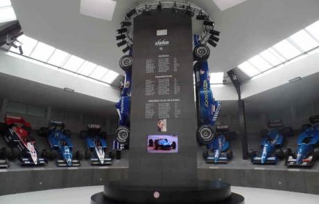 La collection Ligier à Nevers Magny Cours