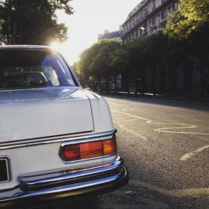 Mercedes 280 SE Paris Hotel de ville
