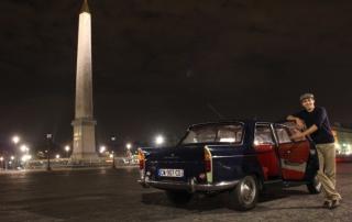 accueil chauffeur Peugeot 404