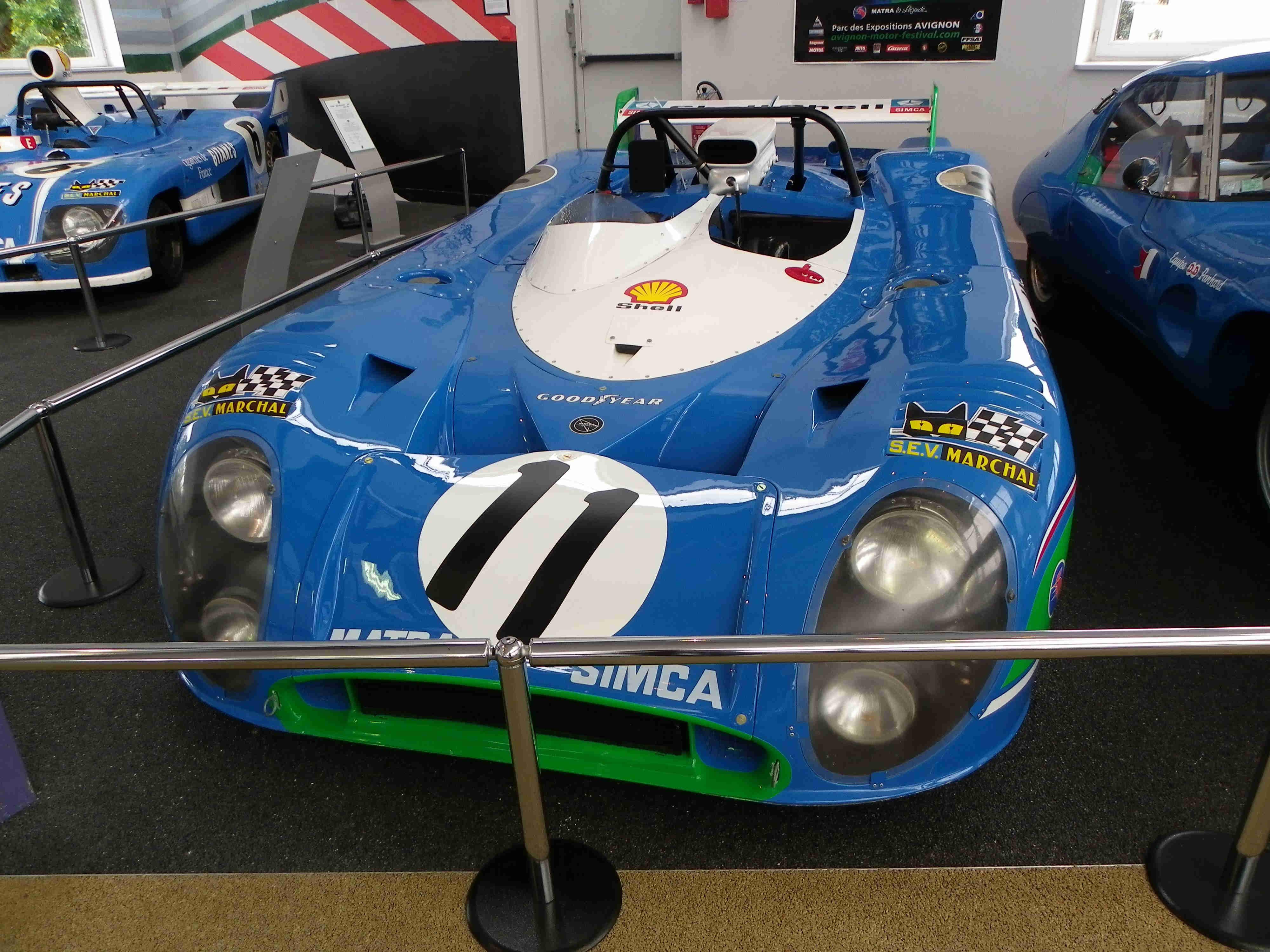 Mastra MS670 (24 heures du Mans 1972)