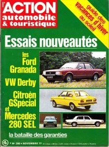 Action Automobile 1977