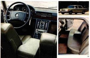 Mercedes 280 sel w116 interieur