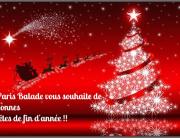 Fëte de Noël avec Paris Balade