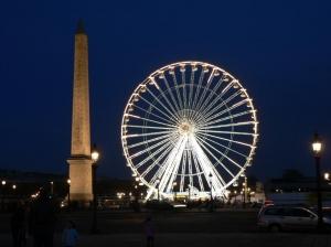 La Grande Roue Place de la Concorde, Paris