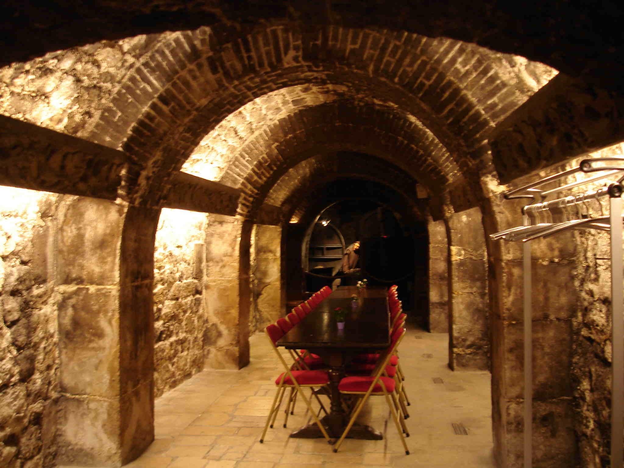 restaurant musee du vin