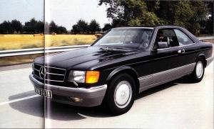 Mercedes 560 SEC W126