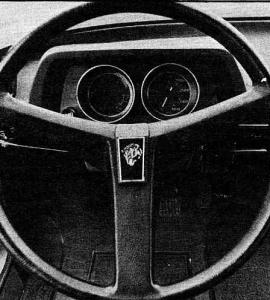 Peugeot 104 Tableau de bord