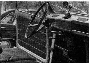 Tableau de bord Renault 4L