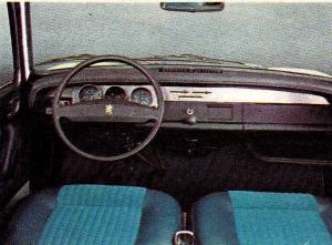 Peugeot 304 tableau de bord