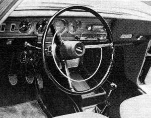 Tableau de bord Simca 1301 1501