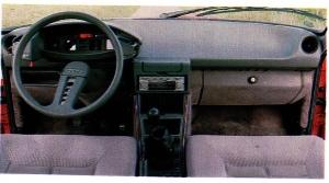Citroen CX 25 GTI tableau de bord
