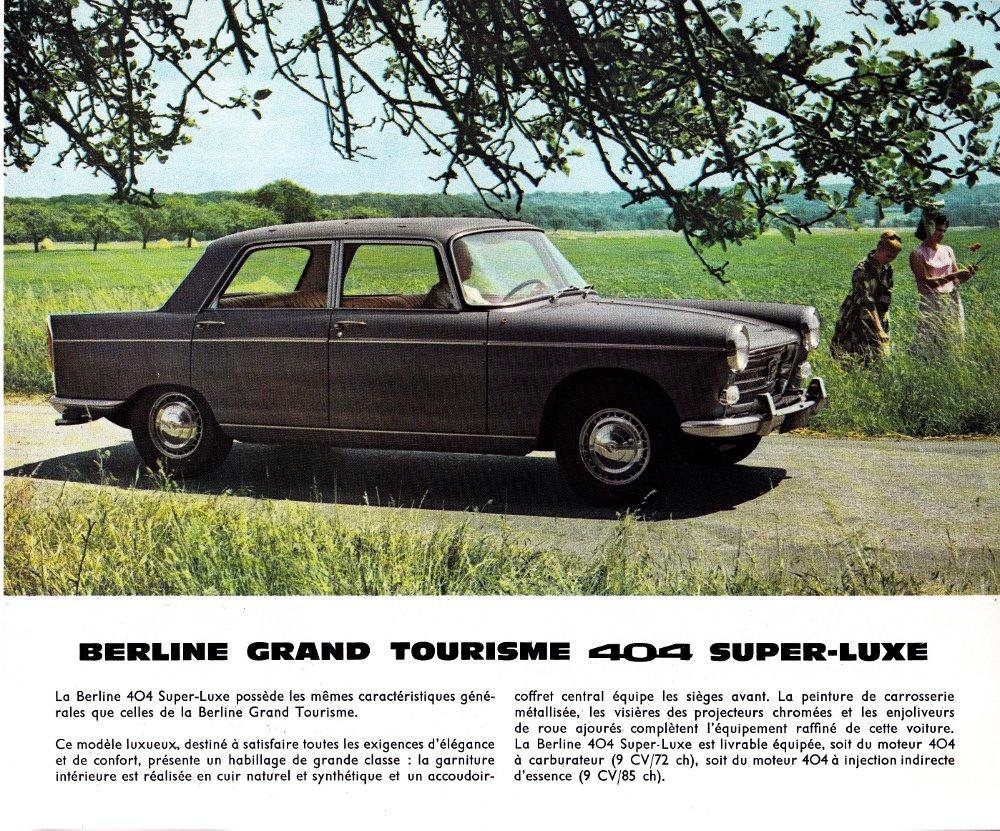 Brochure Peugeot 404 p3