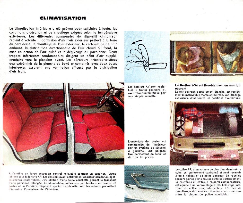 Brochure Peugeot 404 p5