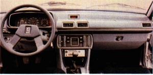 Peugeot 505 Turbo tableau de bord