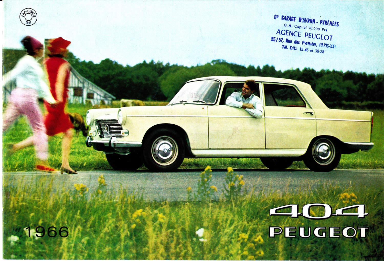 Peugeot 404 1966 p1