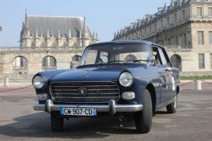 Peugeot 404 visiter paris
