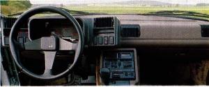 Alpine V6 Turbo tableau de bord