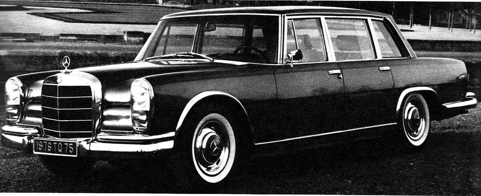 Mercedes 600