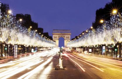 Illuminations à Paris