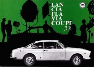 Lancia Flavia brochure