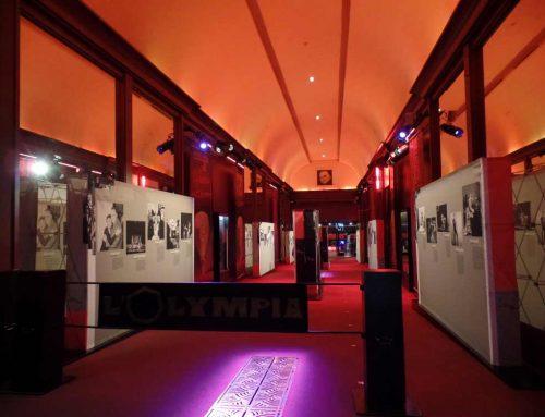 L'exposition sur l'histoire de l'Olympia