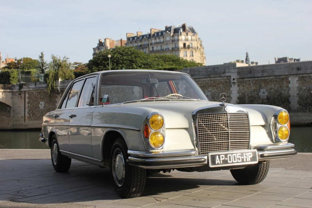 Mercedes rive gauche Paris