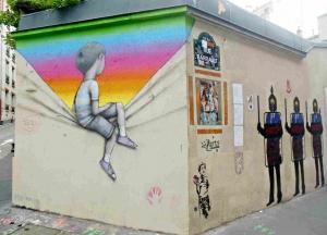 Street arte la butte aux cailles