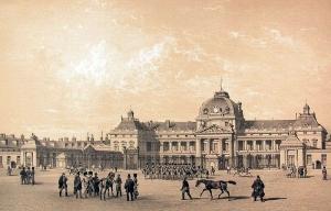 Ecole militaire de Paris en 1830