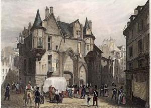 Hotel de Sens ancien