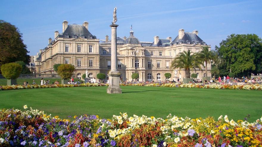 L 39 exposition albert marquet au mus e d 39 art moderne - Exposition jardin du luxembourg ...