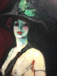 Van Dongen, Femme au grand chapeau, 1906