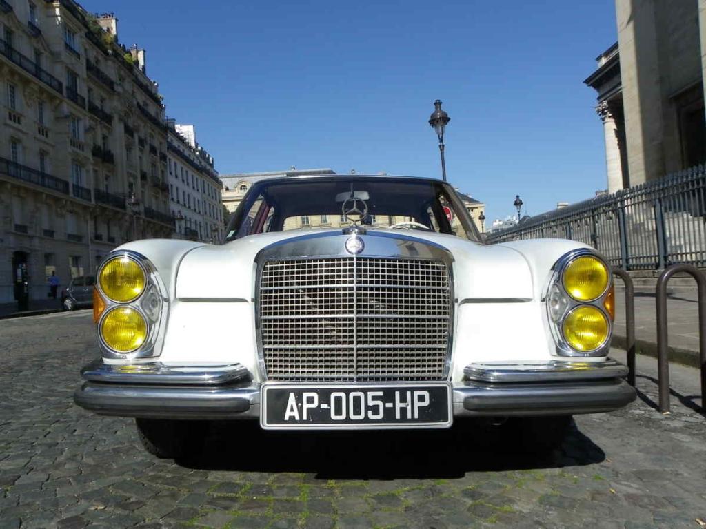 Mercedes 280 SE les bons plans