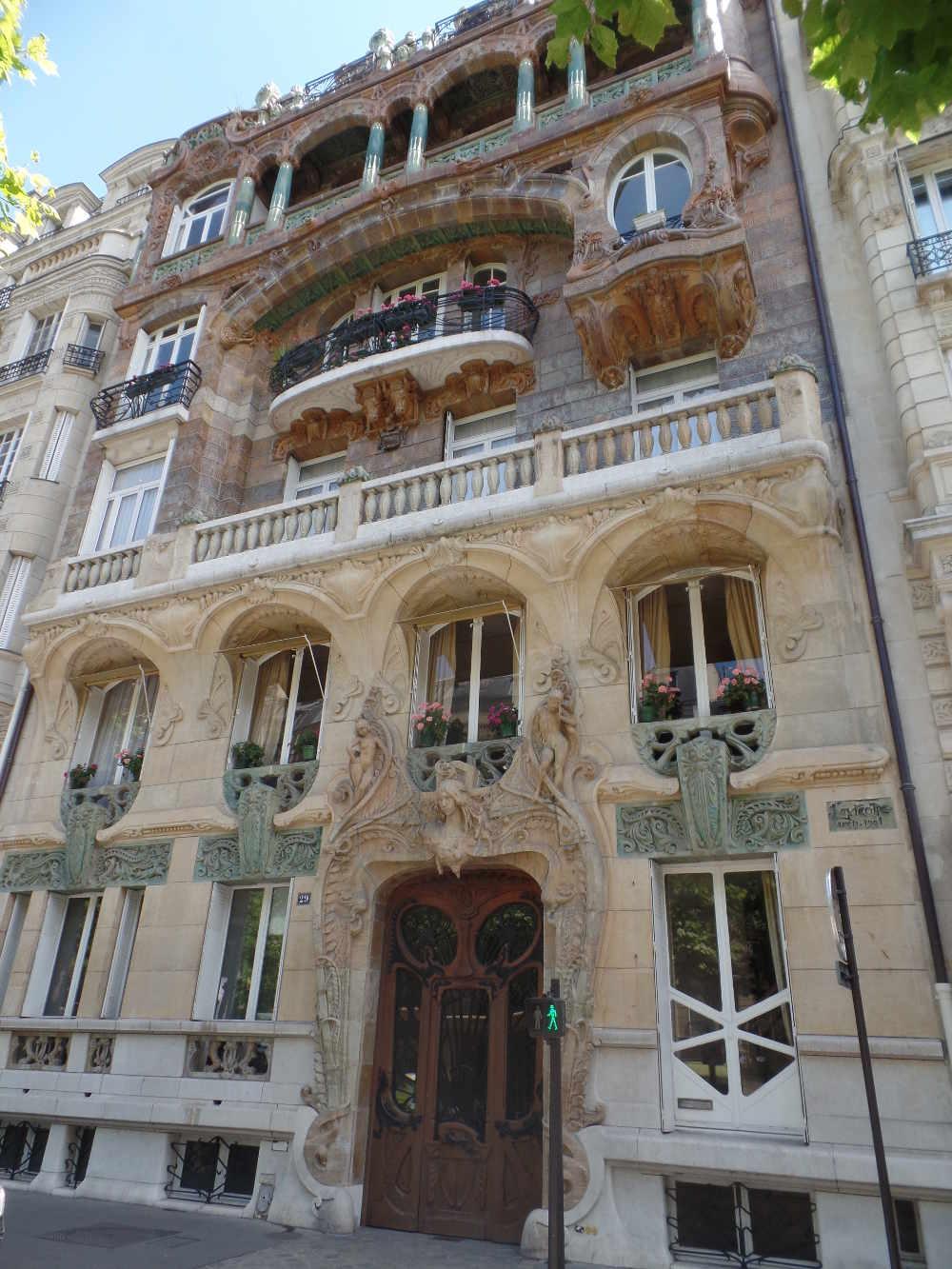29 avenue Rapp Jules Lavirotte