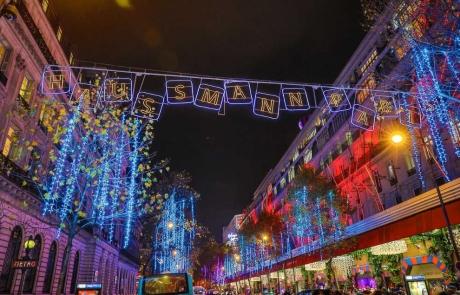 Les Illuminations Haussmann à Paris