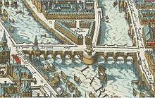 La Place et le Pont-Neuf en 1615