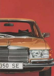 Mercedes classe S w116 brochure
