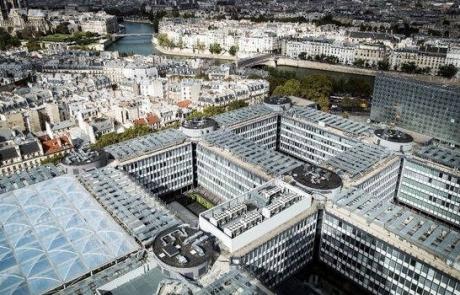 Le campus de Jussieu à Paris