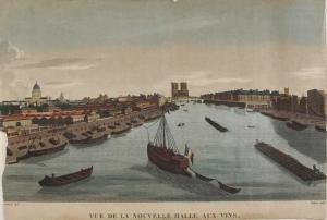 Halle aux vins vers 1850 Jussieu