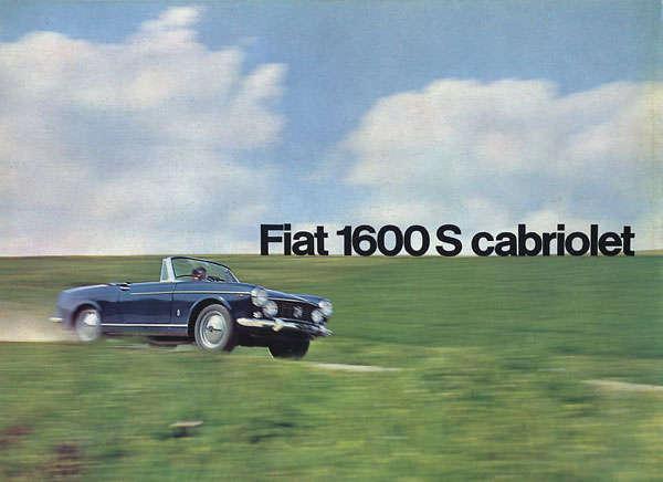 Fiat 1600 S Cabriolet OSCA