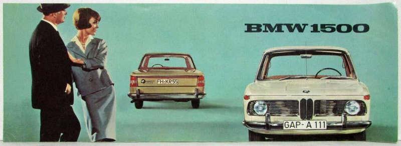 BMW 1500 nouvelle classe